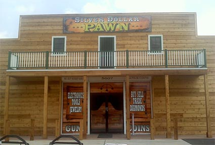 Silver Dollar Pawn Front
