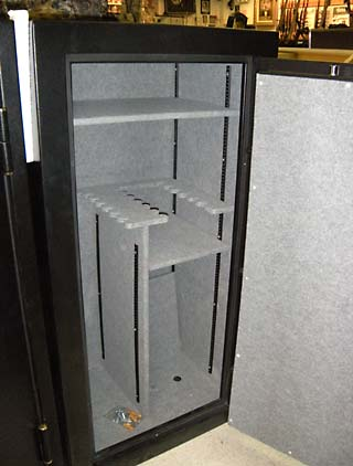 Cougar Gun Safe Interior